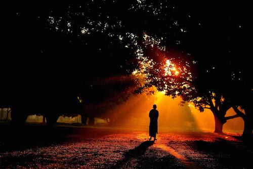 monk morning