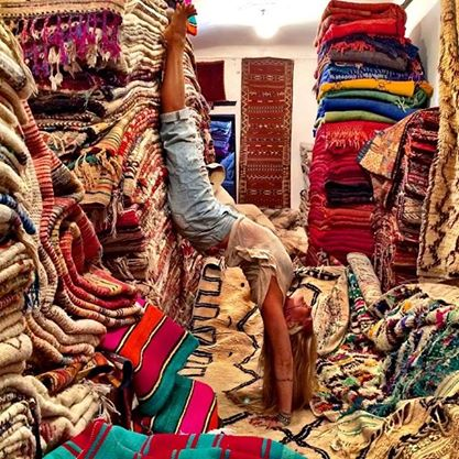 rachel brathen and carpets