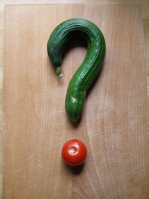 veg question mark