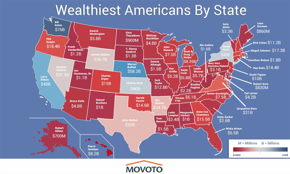 Find the Richest Person in Your State elephant journal