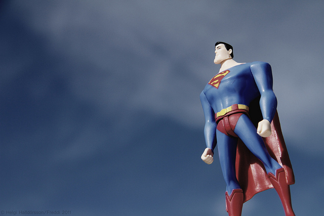 superman men strong