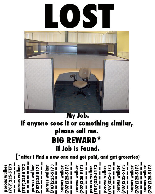 Lost my Job