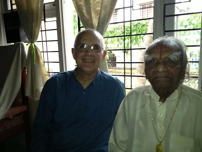Phil and Iyengar (courtesy of the author)