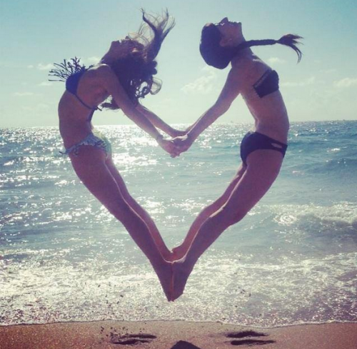 free, girls, happiness, love, heart
