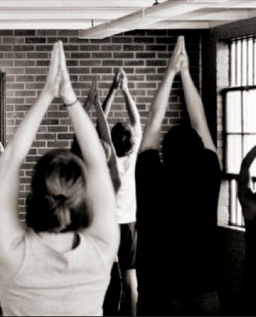 yoga, meditation, community