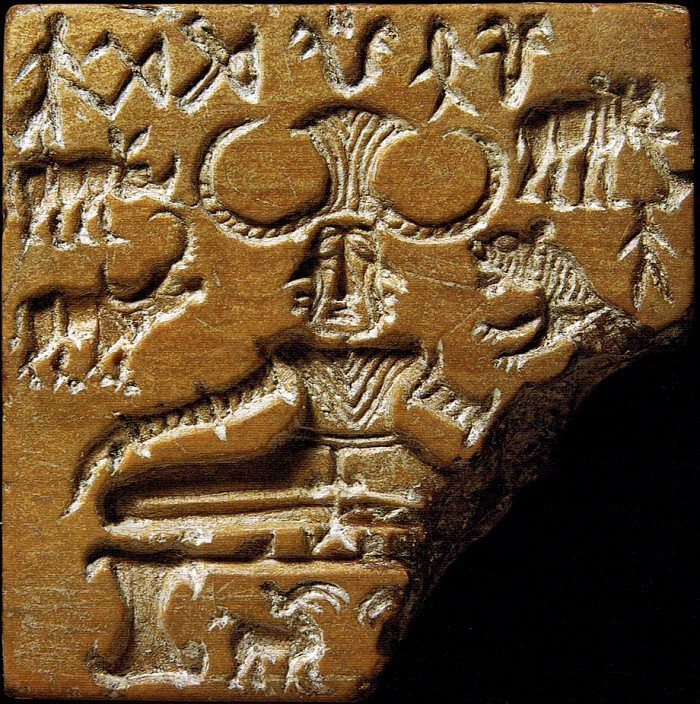 Indus Seal from Mohenjo-Daro ca. ~2600 to 1900 B.C.E.