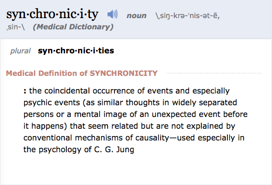 Synchronicity definition