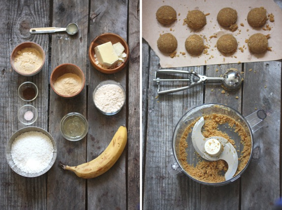 Vanilla macaroon ingredients