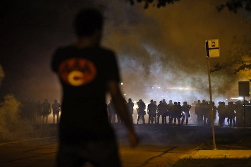ferguson, protest, riot