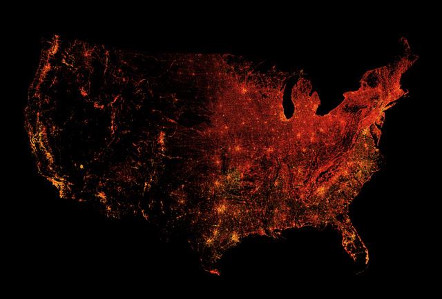 map us data