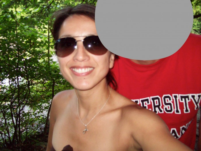 jess sandhu and her ex blocked out