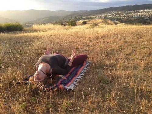 yoga, asana, self-love, field