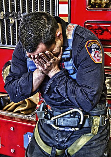 911 fireman grief