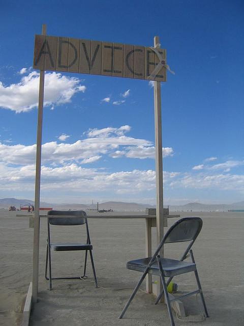 Advice desert