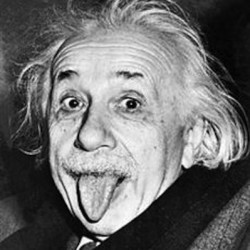 Albert Einstein by Arthur Sasse
