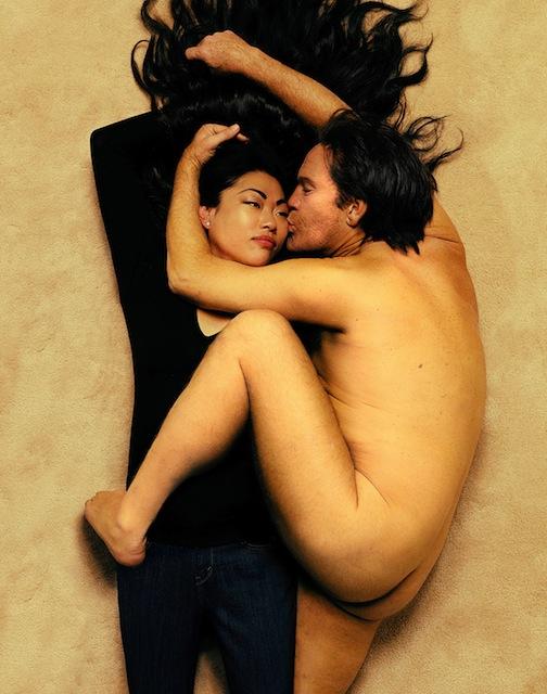 John Malkovich by Sandro Miller - John Lennon and Yoko Ono by Annie Leibovitz