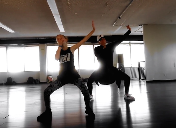 Dancing11yrold