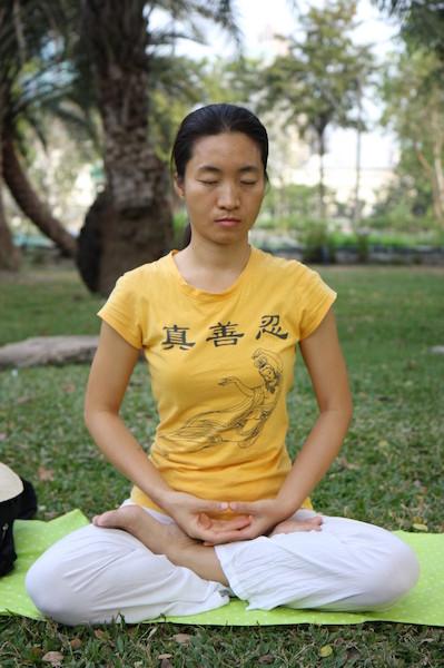 Falun_Dafa_fifth_meditation_exercise