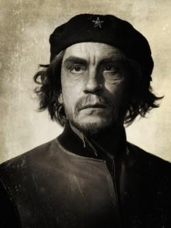 John Malkovich by Sandro Miller - Che Guevara by Alberto Korda