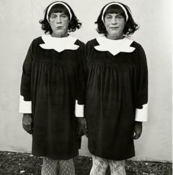 John Malkovich by Sandro Miller - Identical Twins, Roselle by Diane Arbus.jpg