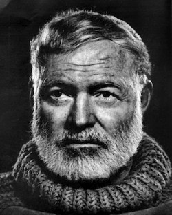 Portrait of Ernest Hemingway by Yousuf Karsh