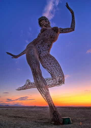 bliss dance, burning man