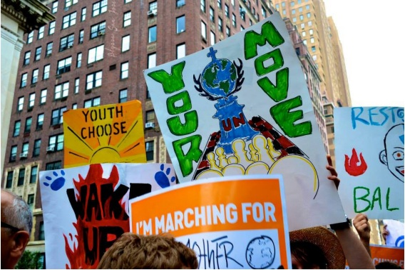 protest, climate reality march