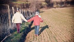 girls holding hands friendship