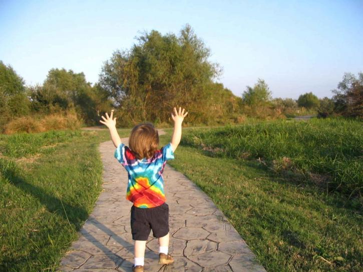 Public Domain: http://www.public-domain-image.com/people-public-domain-images-pictures/children-kids-public-domain-images-pictures/happy-child-finds-joy.jpg.html