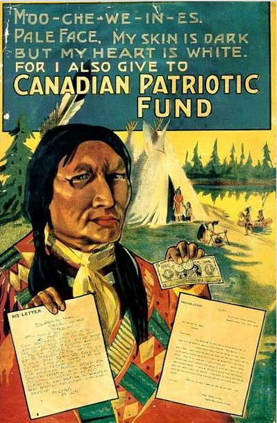 racist vintage ad Canadian Patriotic Fund