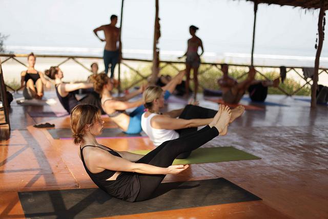 yoga class style