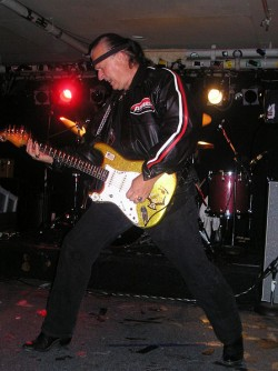 wwiki commons: http://commons.wikimedia.org/wiki/File:Dick_Dale_Middle_East_May_2005.jpg