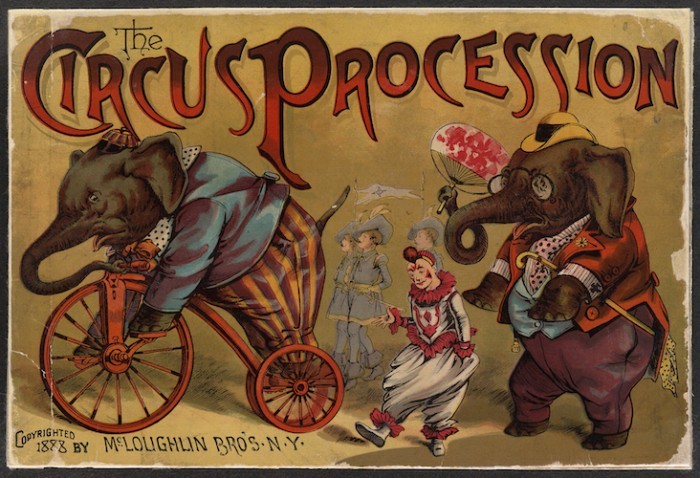 CircusProcessionElephants1888