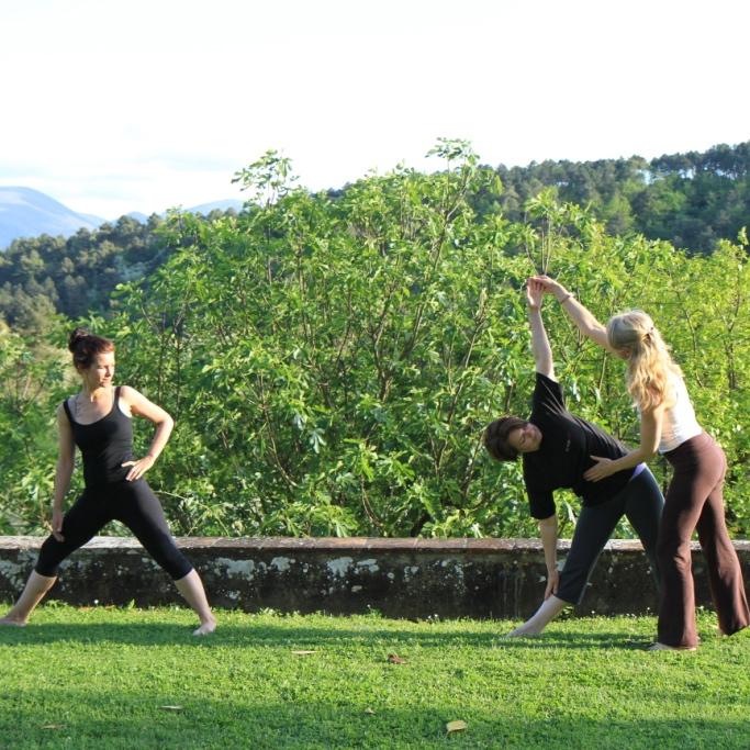 Yoga class_Italy