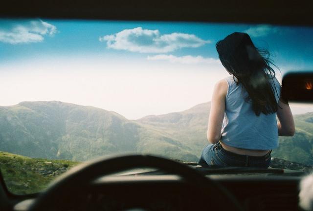 girl car scene