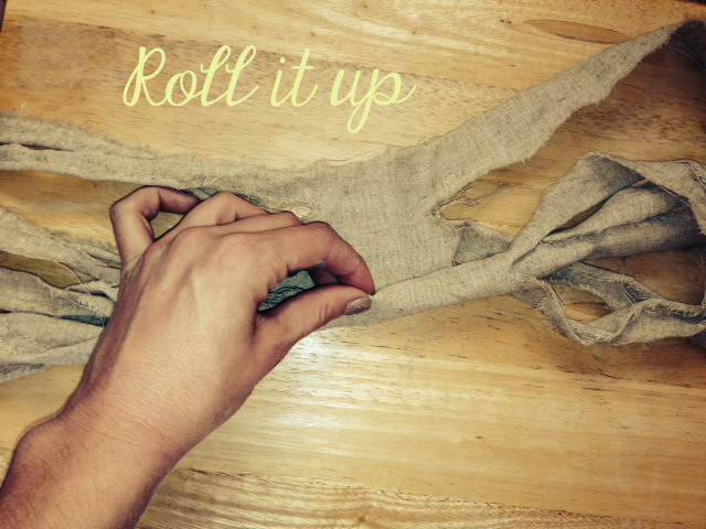 roll up fabric
