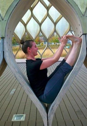 solo yoga practice