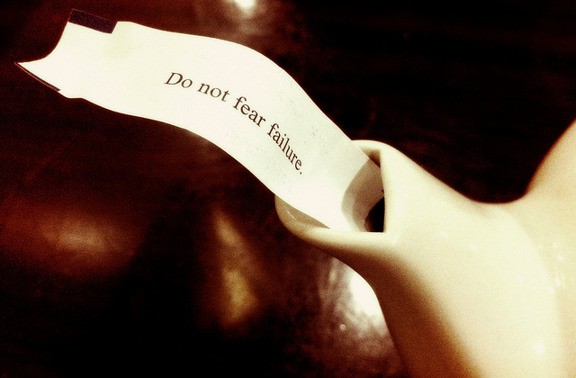 fear, failure, fortune cookie