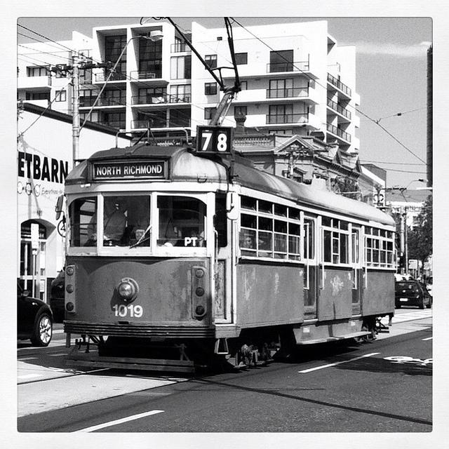 public transportation tram