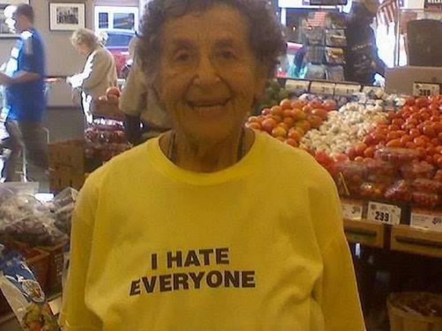 old elderly