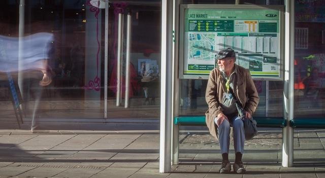 Tram stop of life