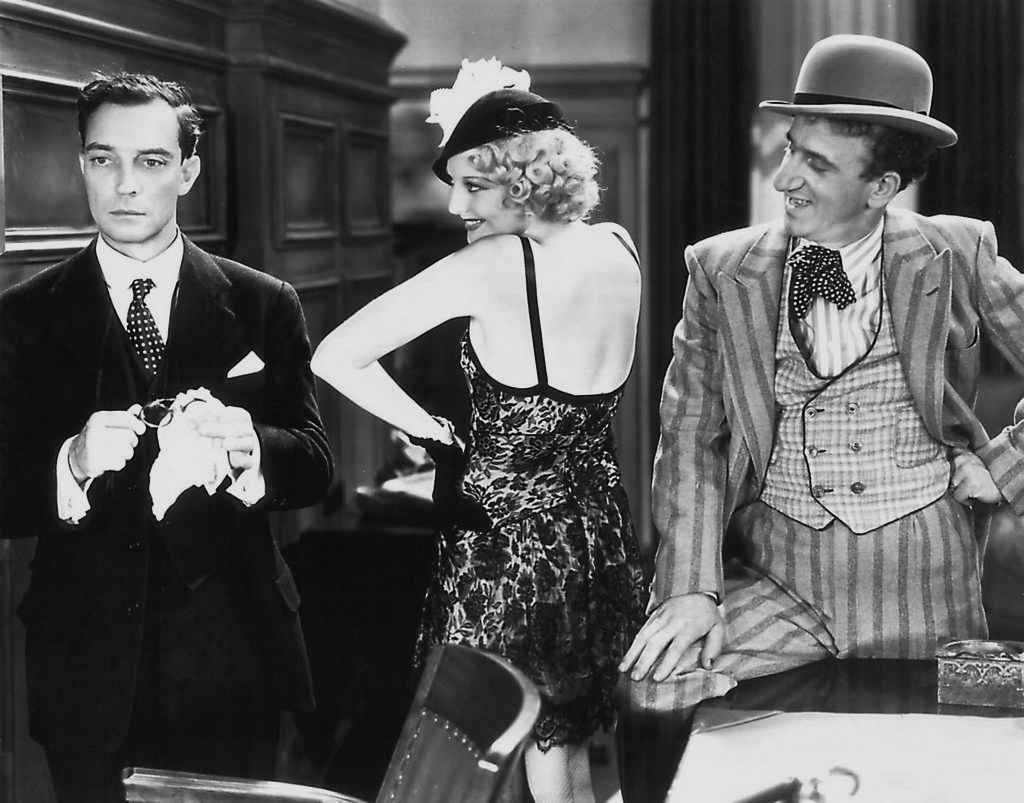 buster keaton speak easily couple threesome jealous