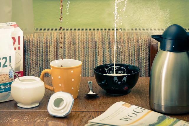 coffee and oatmeal