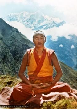 Lama Yeshe at Lawudo, 1972