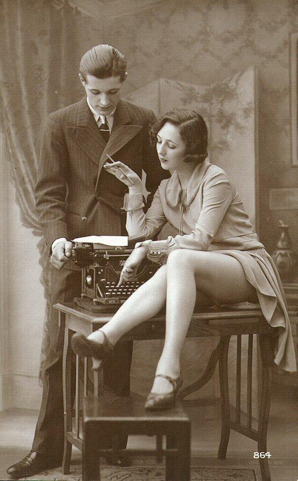 vintage writer newsy