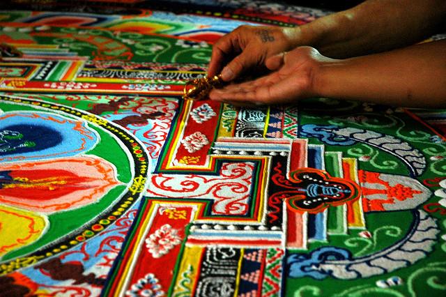 Buddhist Mandala spiritual