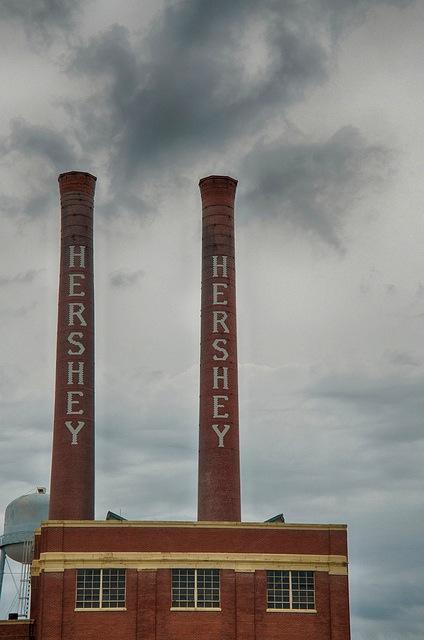 Hershey smokestack