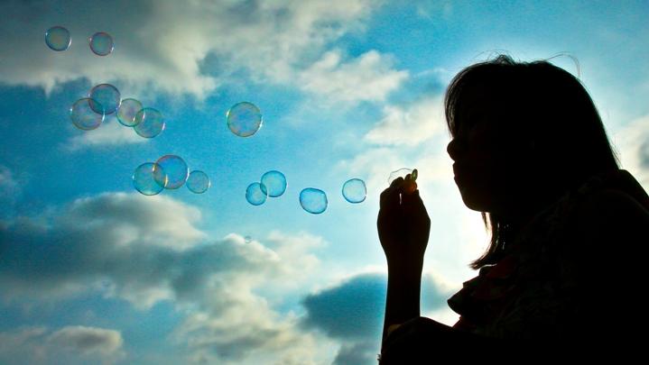 Photo [Asim Bharwani] bubbles let go