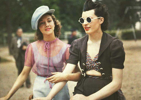 french women style historical photo