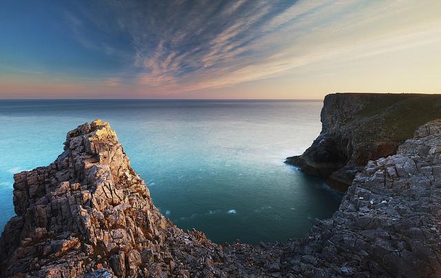 cliffs ocean